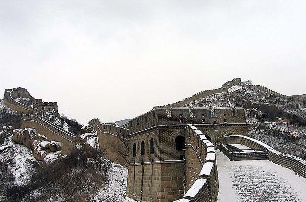Badaling Great Wall in Winter