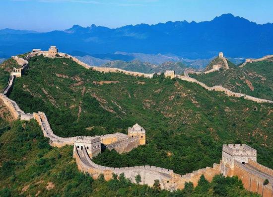 The Overlook of Badaling Great Wall