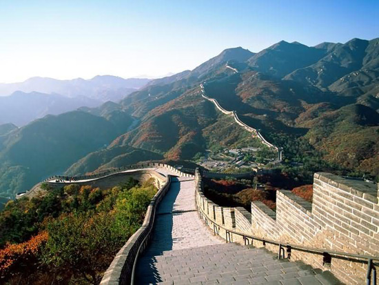 Badaling Great Wall, Wall of China