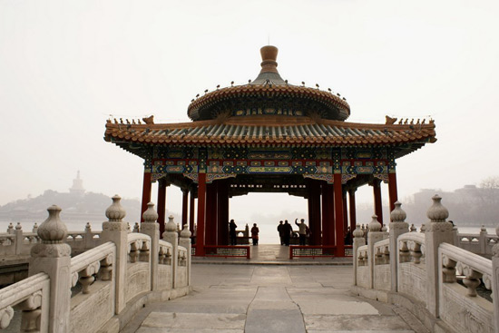 Pavilion in Beihai Park