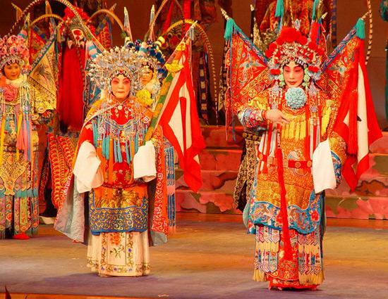 Beijing Opera in Beijing opera house