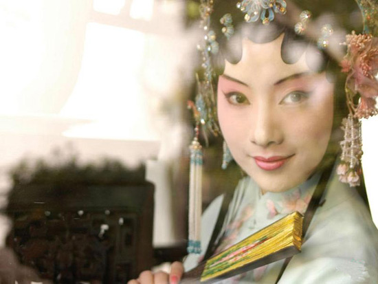 Chinese  Beijing Opera Actress