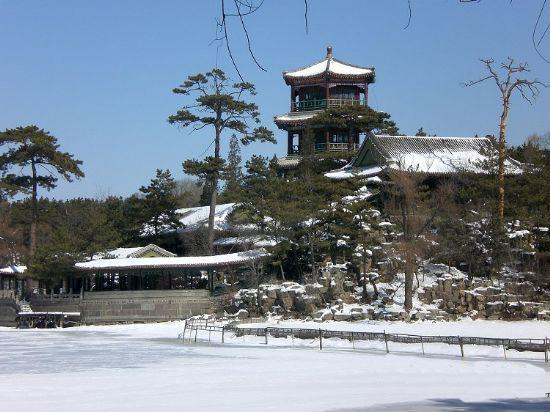Chengde Summer Resort in Winter