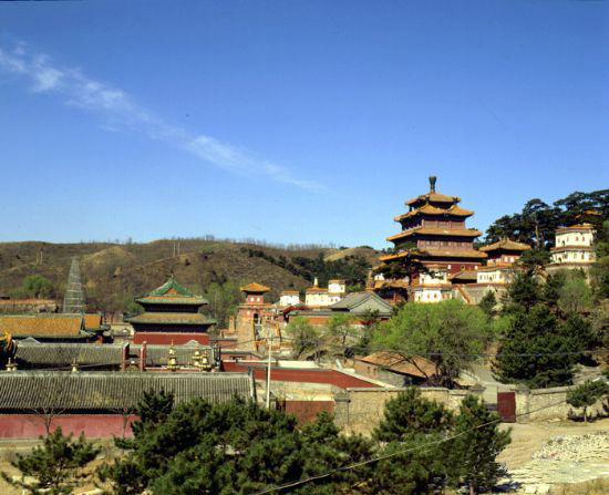 Overlook of Chengde Summer Resort