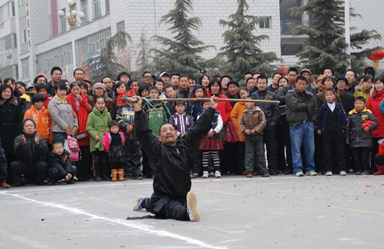 Chinese Kung Fu Acting