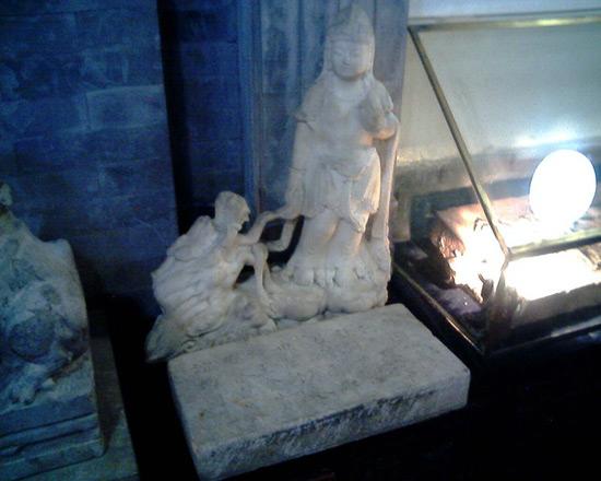 Inside of Confucius Temple