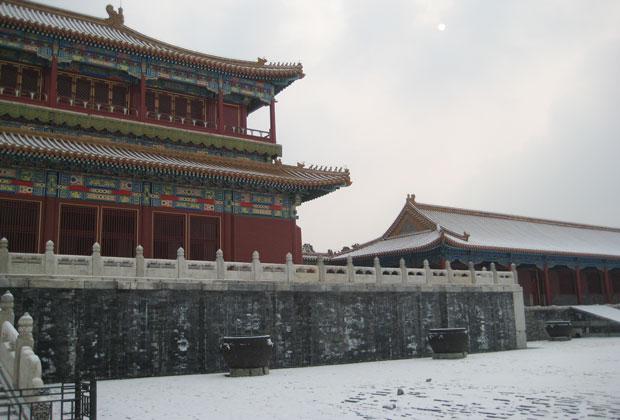 Building in Forbidden City