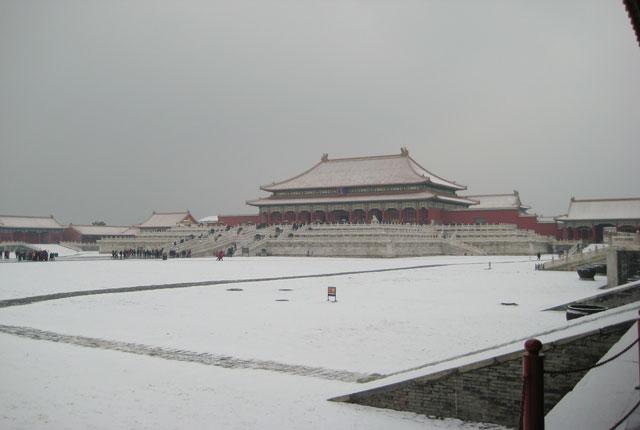 Forbidden City Winter Sight