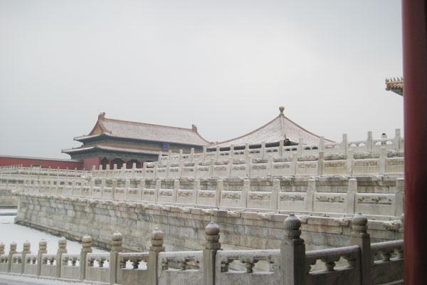 Winter of Forbidden City