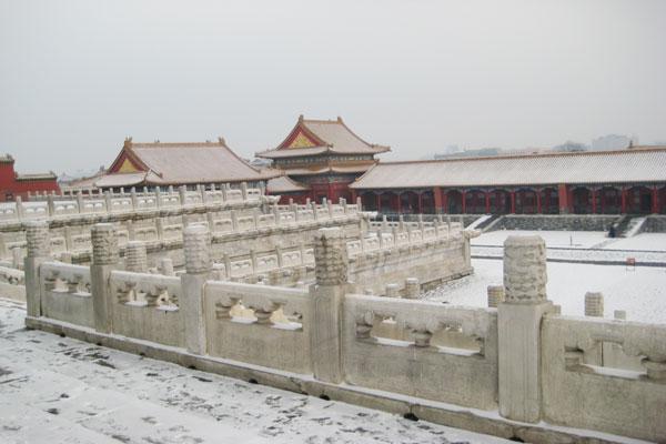 Winter Beijing Tour to Forbidden City