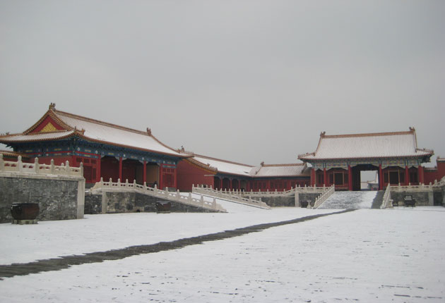 Snowy Forbidden City
