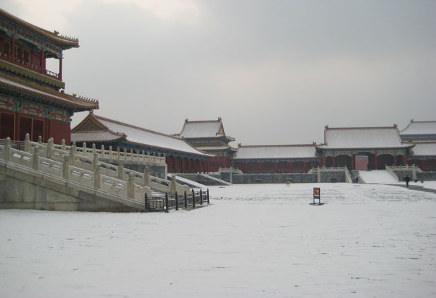 China Winter Tour to Forbidden City