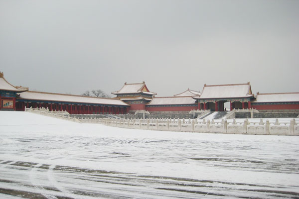 Forbidden City in Winter