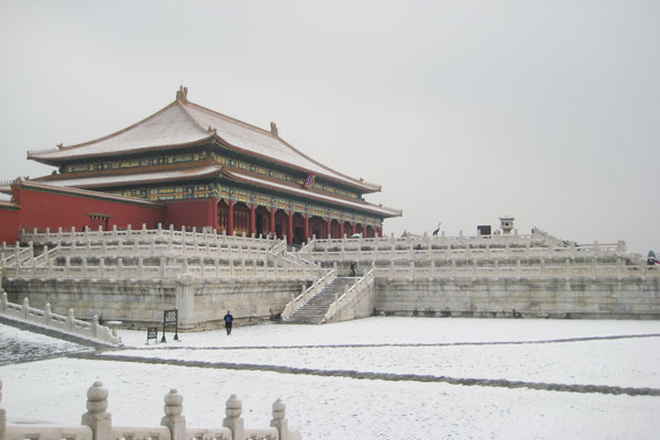 Winter Sight of Forbidden City