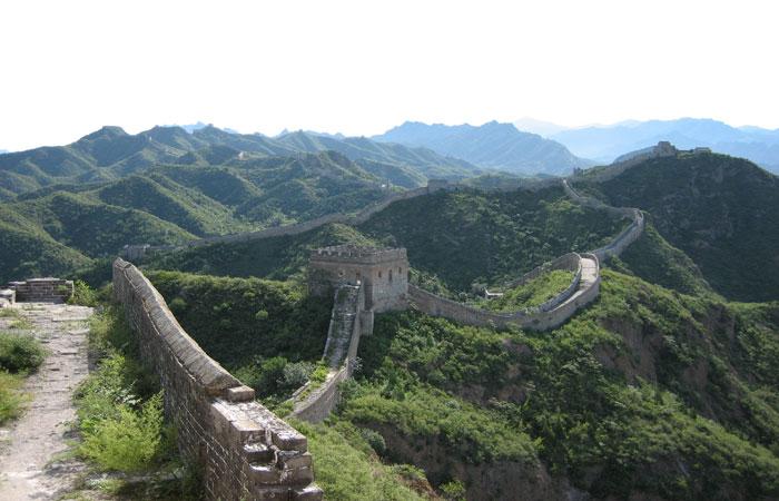 Jinshangling Great Wall Scenery
