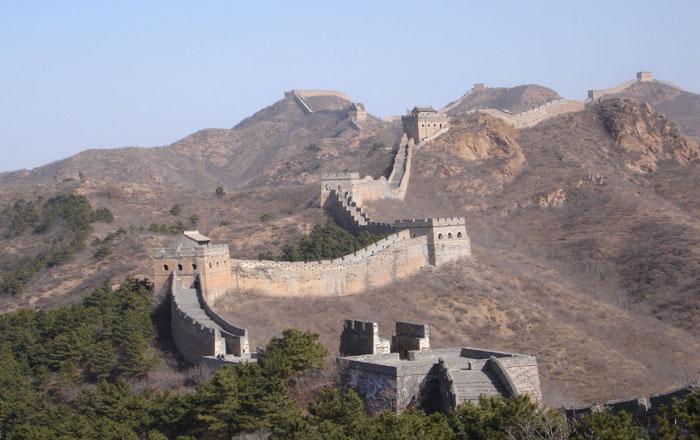 Jinshangling Great Wall Route