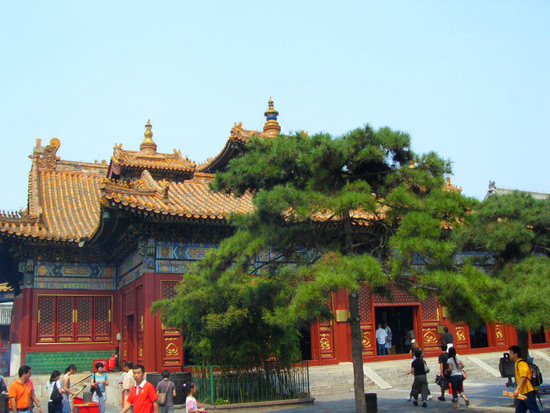 Lama Temple scenery