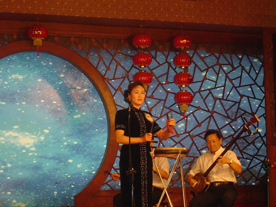 Storytelling in Lao She Tea House