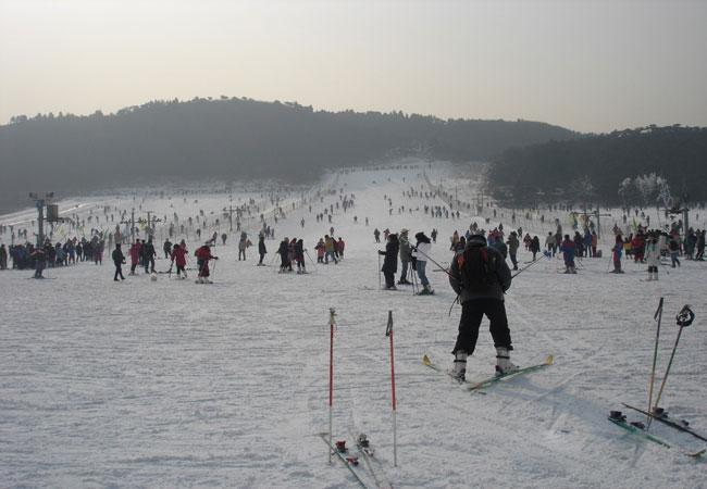 ski in Beijing
