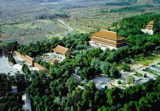 Overview of Ming Tombs