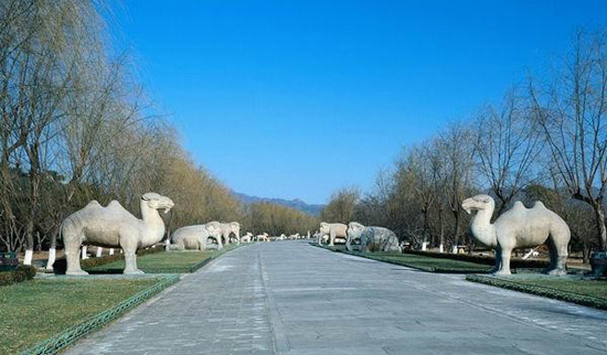 Ming Tombs' Road