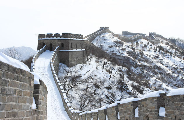 The Fortress of Mutianyu Great Wall