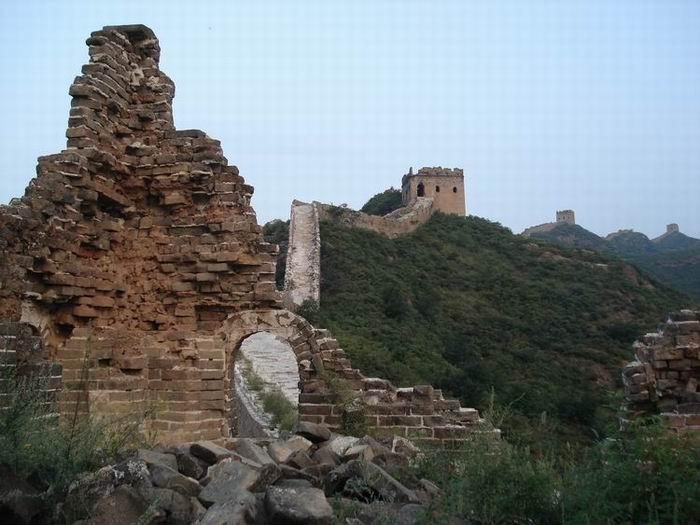 View of Simatai Great Wall