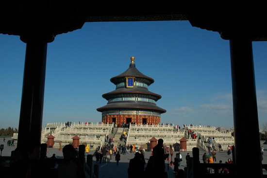 Sight of the Temple Of Heaven