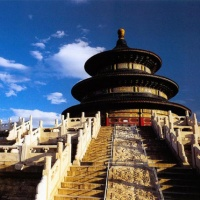 The Temple Of Heaven, Tiantan Park Beijing