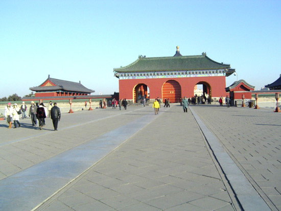 Square at Temple Of Heaven