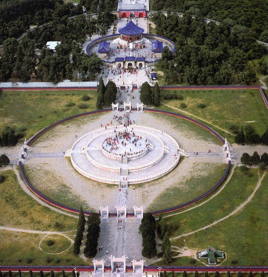 Beijing Temple Of Heaven Overlook