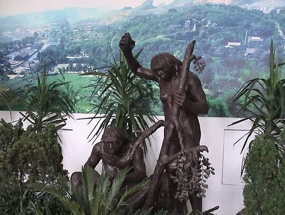 The Peking Man at Zhoukoudian Cave