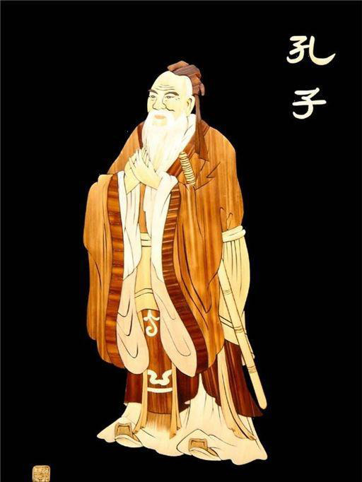 Culture Understanding-Picture of Confucius