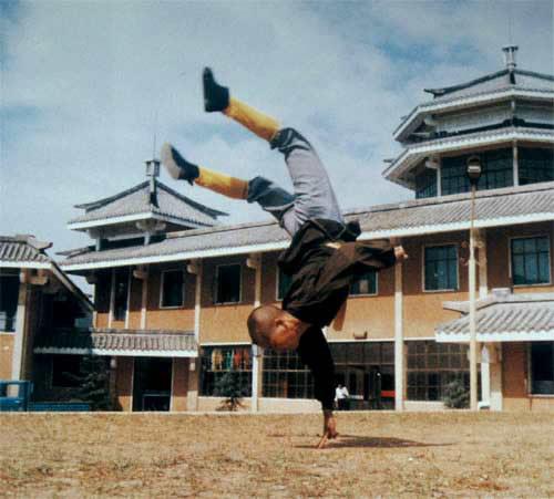 Culture Understanding-Martial Handstand