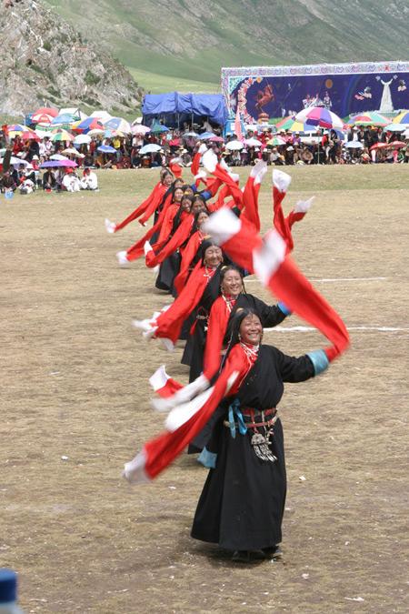 Chinese Dances in Tibet