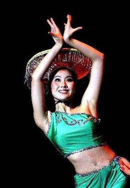 Dancer in Chinese Dances