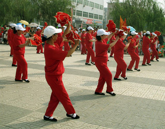 Chinese Dances-Square Dance