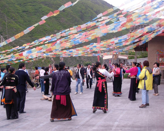 Chinese Dances in Tribe