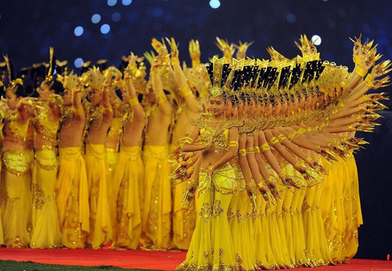 Famous Chinese Dances-Thousand-Hand Kwan-yin