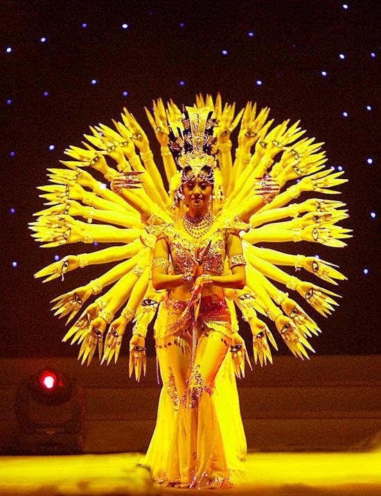 Chinese Dances-Thousand-Hand Kwan-yin