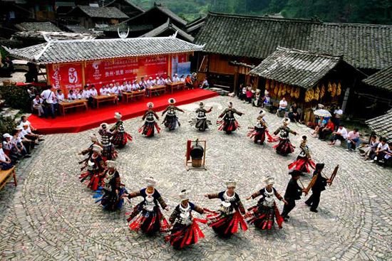 Folk Dance of Chinese Dances