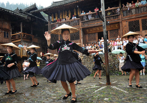Chinese Miao Folk Dances