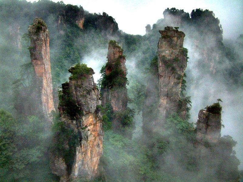 Zhangjiajie Tianmen Mountain National Forest Park