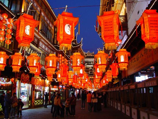 Chinese Lantern Festival-Red Lanterns