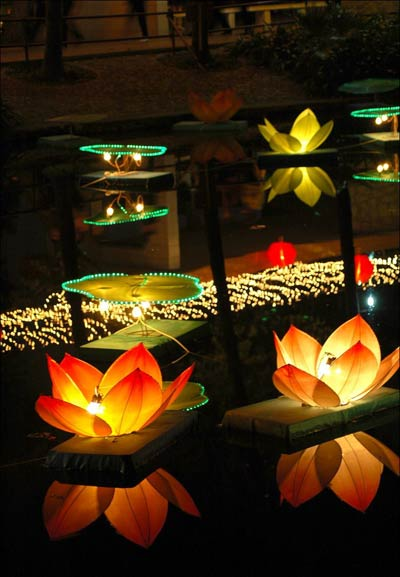 Chinese Lantern Festival-Colorful Lanterns