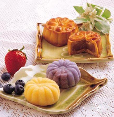 Mooncakes-Chinese Mid-Autumn Festival
