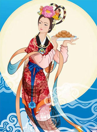 Mid-Autumn Festival-Legeng of Chang'e