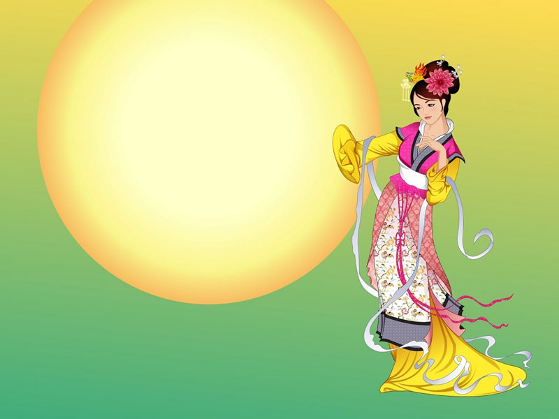 Legeng of Chang'e:Chinese Mid-Autumn Festival