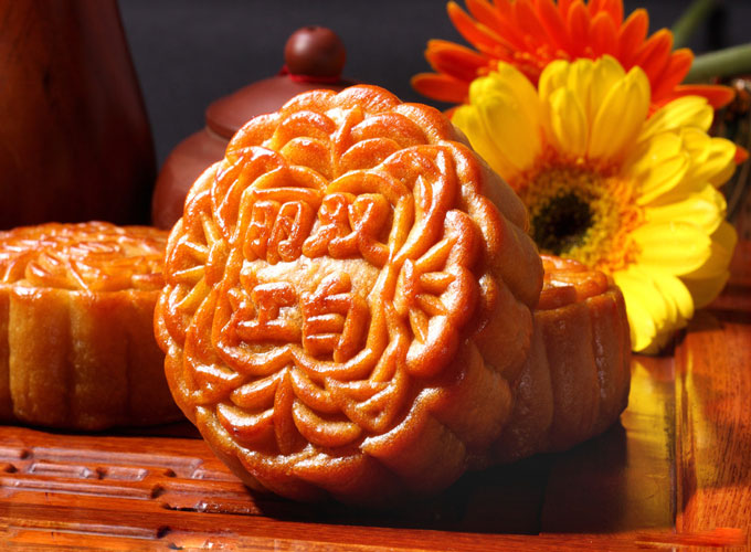 Mid-Autumn Festival-Chinese Traditional Mooncake