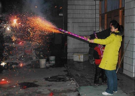 The Spring Festival-Fireworks